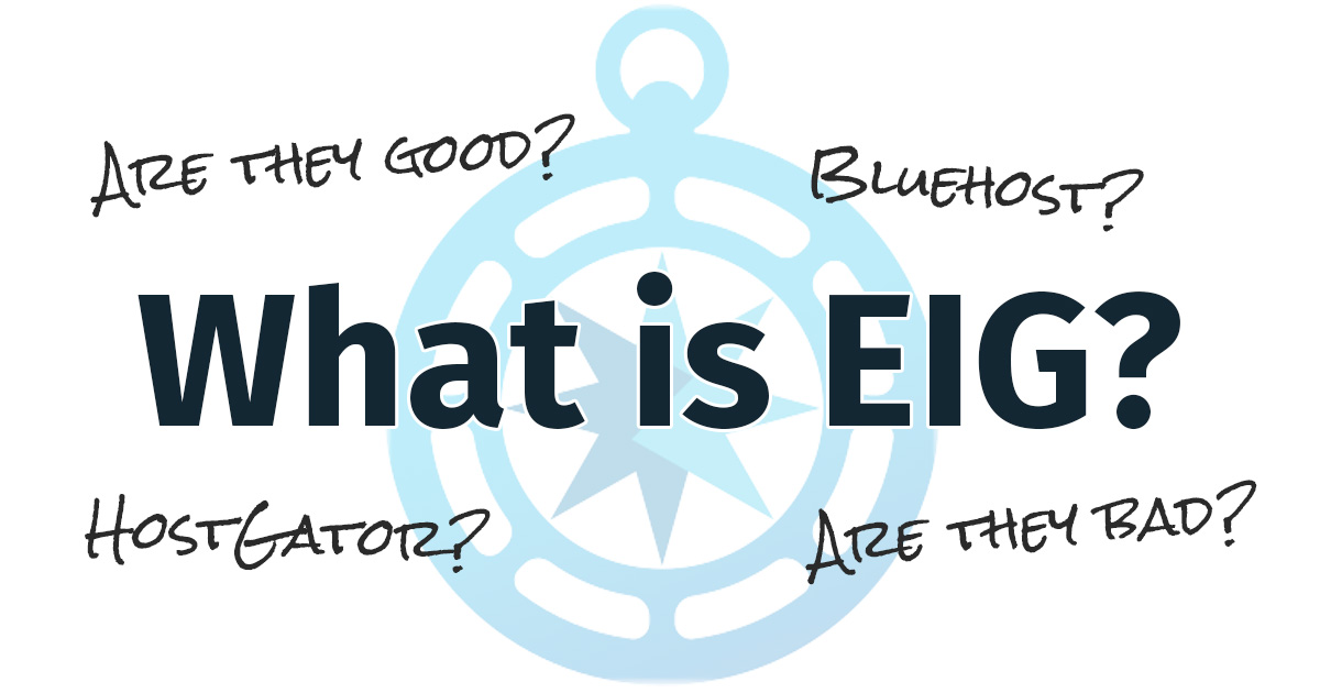 What is EIG hosting
