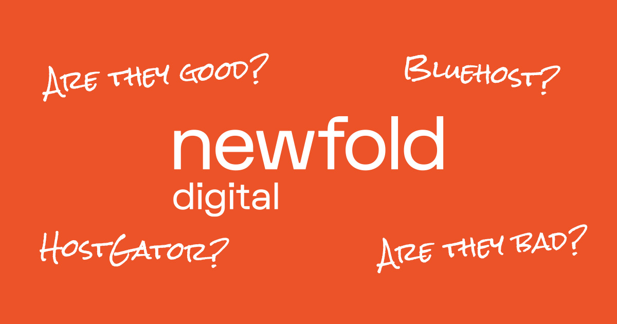 Newfold Digital is the parent company of Bluehost and Web.com.