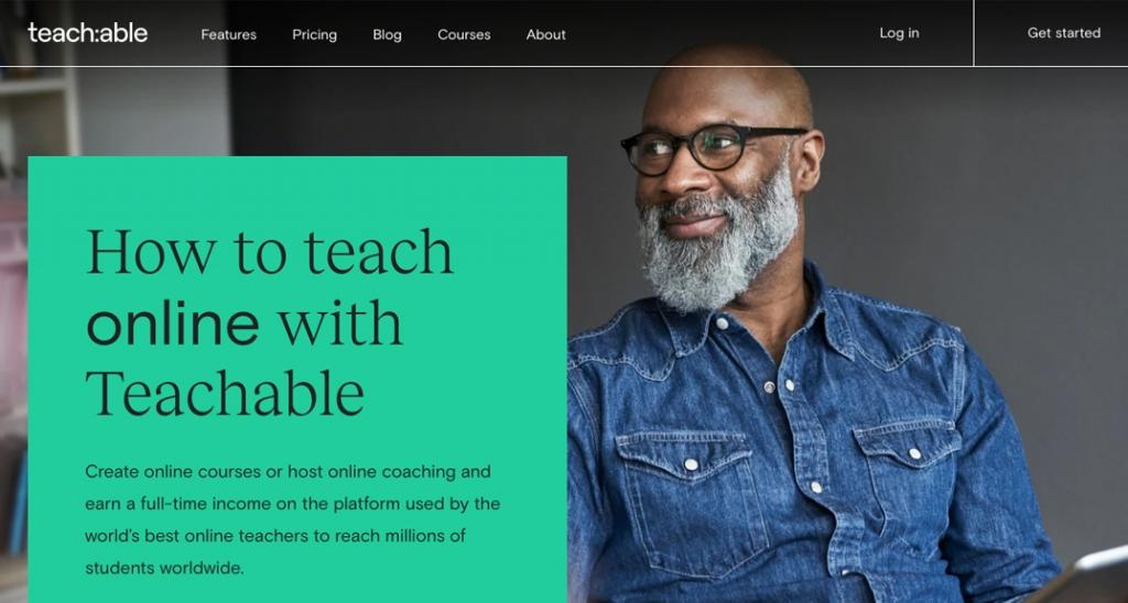 Teachable course builder